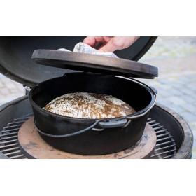 Liatinový kotlík 5,2 L dutch oven na pečenie chleba