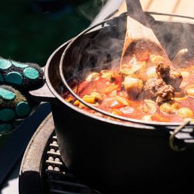 Liatinový kotlík 5,2 L dutch oven na varenie guláša