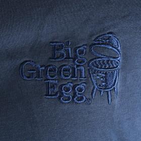 Big Green Egg Tričko s dlhým rukávom modrej farby