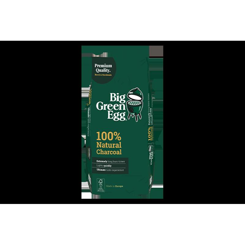 Drevné uhlie Big Green Egg vyrobené v Európe 9 kg.