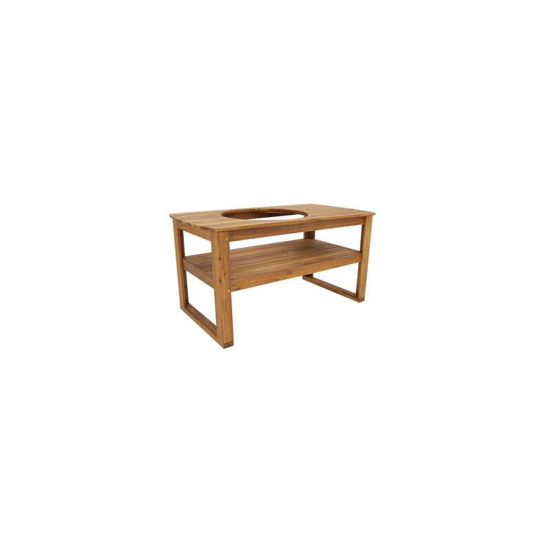 Acacia stôl pre Big Green Egg XLARGE