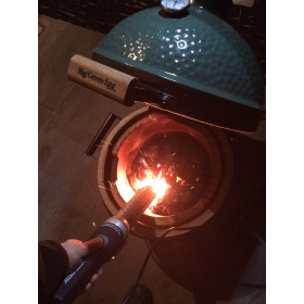 Looftlighter elektrický zapaľovač drevného uhlia, dreva, brikiet a triesok.