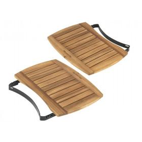 EGGmates poličky z acaciového dreva