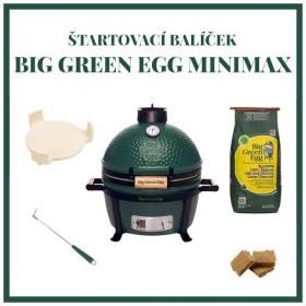 Big Green Egg MiniMax štartovací balíček
