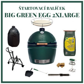 Big Green Egg 2XL zostava štartovací balíček
