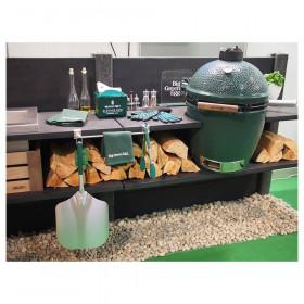 Betónová vonkajšia kuchyňa WWOO-02-01 antracitová s integrovaným Big Green Egg Large plnej výbave (ilustračný obrázok)