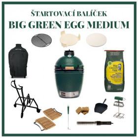 Big Green Egg Medium zostava štartovací balíček
