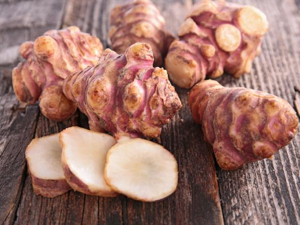 Topinambury - jeruzalemské artičoky, židovské zemiaky